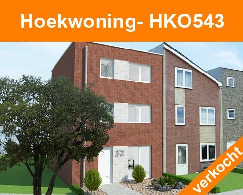 HKO543 verkocht